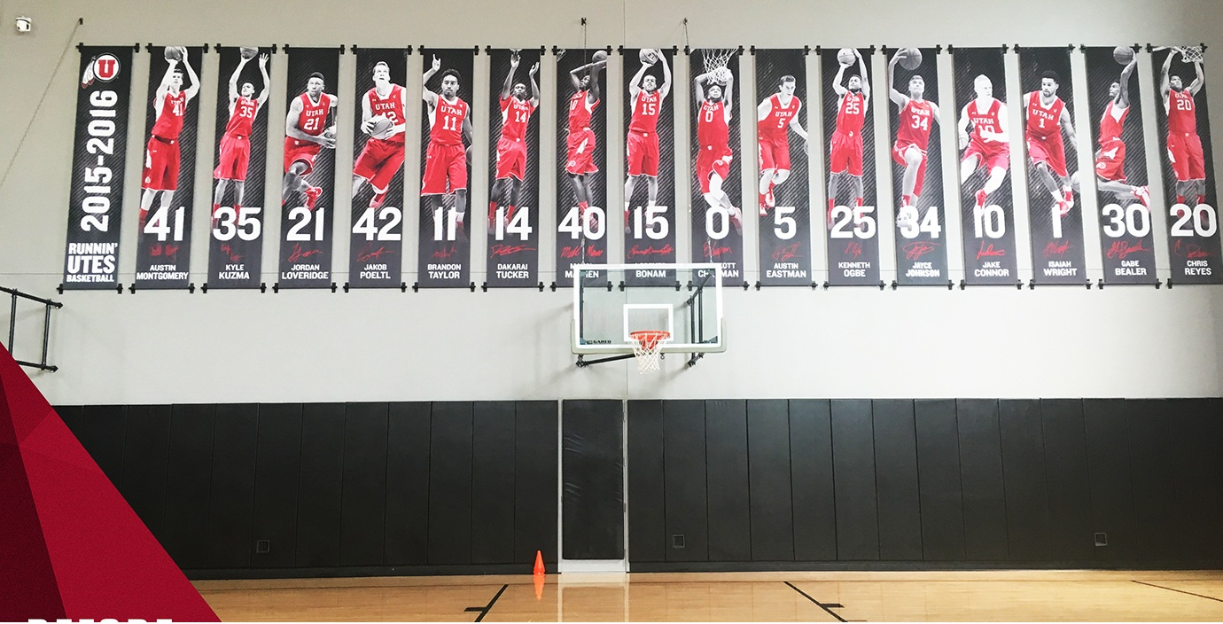 Basketball banners